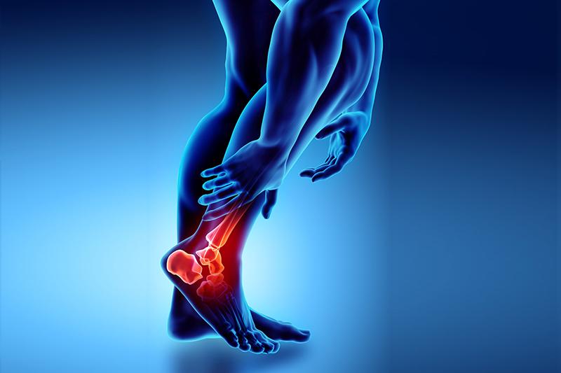 staw skokowy artroskopia
