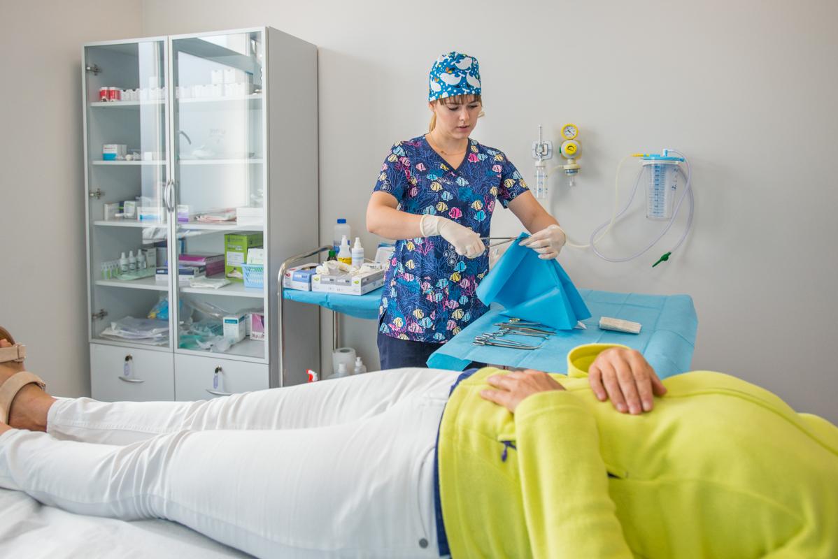 szpital w MEdyk Centrum - badanie pacjenta